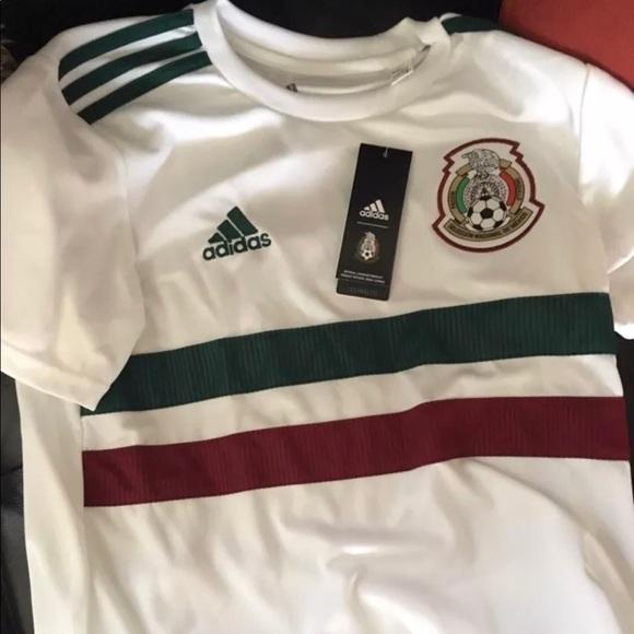 3d7b75e6685 Mexico 2018 World Cup Soccer Jersey Away